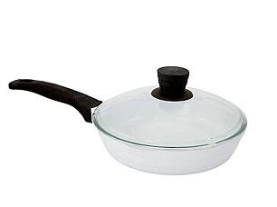 Сковорода с крышкой Добрыня DO-5018 (24см) СёгунСковороды антипригарные<br><br>