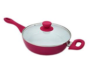 Сковорода с крышкой Добрыня DO-5007 (24/6см)Сковороды антипригарные<br><br>