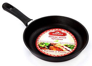 Сковорода чугунная Добрыня DO-3311 (22х4 см)Сковороды антипригарные<br><br>