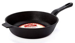 Сковорода чугунная Добрыня DO-3314 (24х6 см)Сковороды антипригарные<br><br>