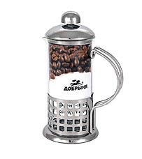 Френч - пресс Добрыня DO-2801 (350 мл)Заварочные чайники<br><br>