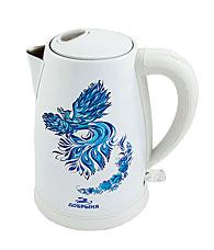 Чайник электрический Добрыня DO-1218 (1,8 л) 2200 Вт ПтицаЧайники и кофеварки<br><br>