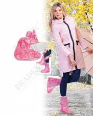 Чехлы грязезащитные для женской обуви без каблука, размер XL, цвет розовый Bradex KZ 0342Товары для дома<br><br>