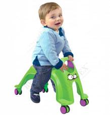 Каталка детская Вихрь зеленый Bradex DE 0175игрушки<br><br>