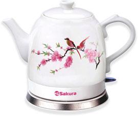 Чайник электрический Sakura SA-2000S 1,2лЧайники и кофеварки<br><br>
