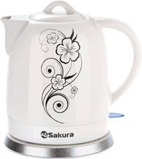 Чайник электрический Sakura SA-2008F 1,5лЧайники и кофеварки<br><br>