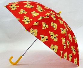 Зонт-трость детский Ame Yoke (Аме Йоке) L-54-4 (авт. с рисунком, спица 54см)Зонты<br><br>