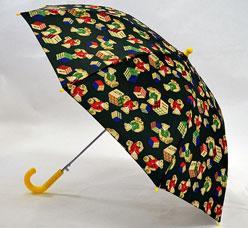 Зонт-трость детский Ame Yoke (Аме Йоке) L-54-5 (авт. с рисунком, спица 54см)Зонты<br><br>