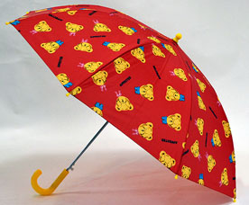 Зонт-трость детский Ame Yoke (Аме Йоке) L-54-9 (авт. с рисунком, спица 54см)Зонты<br><br>