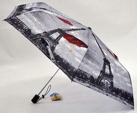Зонт-автомат женский Ame Yoke (Аме Йоке) OK-54-1-2016year (фото, облегченный, спица 54см)Зонты<br><br>