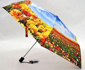 Зонт-автомат женский Ame Yoke (Аме Йоке) OK-54-2-2016year (фото, облегченный, спица 54см)Зонты<br><br>