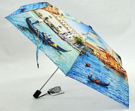 Зонт-автомат женский Ame Yoke (Аме Йоке) OK-54-4-2016year (фото, облегченный, спица 54см)Зонты<br><br>