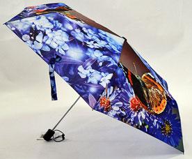 Зонт-автомат женский Ame Yoke (Аме Йоке) OK-54-5-2016year (фото, облегченный, спица 54см)Зонты<br><br>