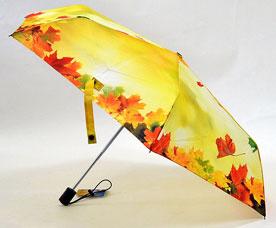 Зонт-автомат женский Ame Yoke (Аме Йоке) OK-54-6-2016year (фото, облегченный, спица 54см)Зонты<br><br>
