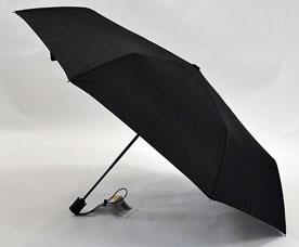 Зонт-автомат Ame Yoke (Аме Йоке) OK-55-B-2016year (черный, облегченный, спица 55см)Зонты<br><br>