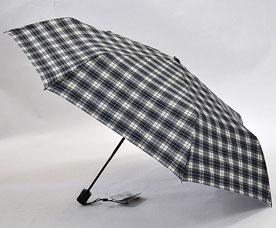Зонт-автомат Ame Yoke (Аме Йоке) OK-55-CH-2 (клетка, облегченный, спица 55см)Зонты<br><br>