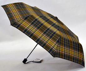 Зонт-автомат Ame Yoke (Аме Йоке) OK-55-CH-6 (клетка, облегченный, спица 55см)Зонты<br><br>