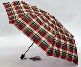Зонт-автомат Ame Yoke (Аме Йоке) OK-55-CH-8 (клетка, облегченный, спица 55см)Зонты<br><br>
