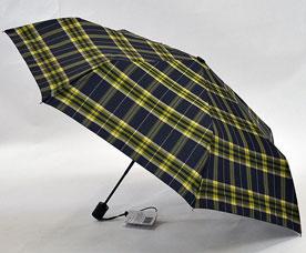 Зонт-автомат Ame Yoke (Аме Йоке) OK-55-CH-9 (клетка, облегченный, спица 55см)Зонты<br><br>