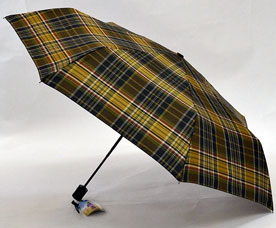 Зонт-автомат Ame Yoke (Аме Йоке) OK-55-CH-11 (клетка, облегченный, спица 55см)Зонты<br><br>