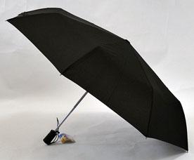Зонт-автомат Ame Yoke (Аме Йоке) OK-58-B (черный, увеличенный купол)Зонты<br><br>