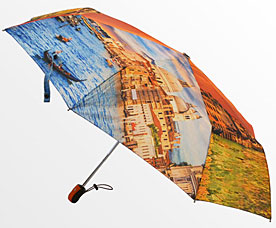Зонт-автомат женский Ame Yoke (Аме Йоке) OK-58-photo-5 (фото, спица 58см)Зонты<br><br>