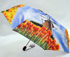 Зонт-автомат женский Ame Yoke (Аме Йоке) OK-58-photo-7 (фото, спица 58см)Зонты<br><br>