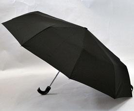 Зонт-автомат мужской Ame Yoke (Аме Йоке) OK-70-10HB (черный, семейный, купол 10 спиц)Зонты<br><br>