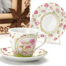 Чайный сервиз Lorraine LR-25798 12пр 220мл фарфор РозыСервировка стола<br><br>