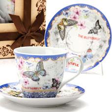 Чайный сервиз Lorraine LR-25796 12пр 220мл фарфор ЦветыСервировка стола<br><br>