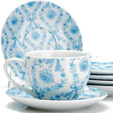 Чайный сервиз Lorraine LR-25923 12пр 220мл ЦветыСервировка стола<br><br>