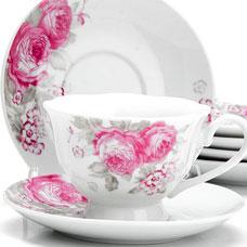Чайный сервиз Lorraine LR-25920 12пр 150мл ЦветыСервировка стола<br><br>