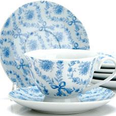 Чайный сервиз Lorraine LR-25919 12пр 150мл ЦветыСервировка стола<br><br>