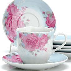 Чайный сервиз Lorraine LR-25913 12пр 220мл ЦветыСервировка стола<br><br>