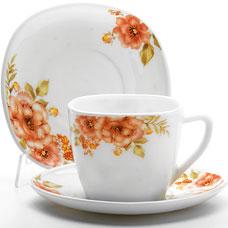 Чайный набор Lorraine LR-24109 12пр ЦветыСервировка стола<br><br>