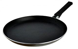 Сковорода блинная из штампованного алюминия Regent inox 93-AL-FI-5-20 20 смСковороды для блинов<br><br>
