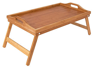 Столик сервировочный из бамбука Regent Inox 93-BM-7-01.1 50х30x6,5 смСервировка стола<br><br>