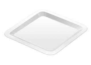 Тарелка мелкая Gustito, 27x27 см, Tescoma 386344Сервировка<br><br>