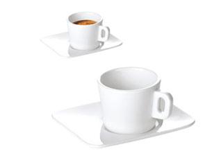 Кружка для эспрессо Gustito, с блюдцем, Tescoma 386420Сервировка<br><br>