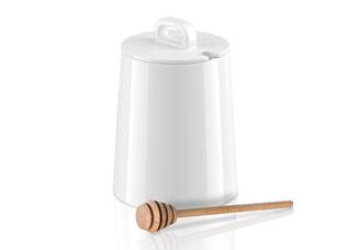 Емкость для меда Gustito 0.6 л, с разливной ложкой, Tescoma 386470Сервировка<br><br>