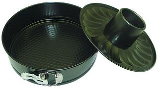 Форма разъемная 2 дна из углеродистой стали Regent inox 93-CS-EA-5-09 26x7 смТовары для выпечки<br><br>