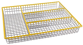 Лоток для столовых приборов Regent Inox 93-TR-05-06 32x26x4 смСервировка стола<br><br>