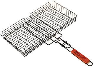 Решетка-гриль глубокая с антипригарным покрытием Regent inox 93-PIC-73-2 45x25 смШашлык, барбекю<br><br>
