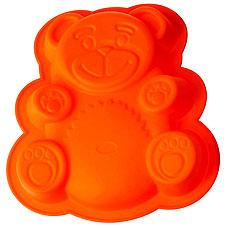 Форма силиконовая для пирога Медвежонок Regent inox 93-SI-FO-20 26x23,5x4 смТовары для выпечки<br><br>