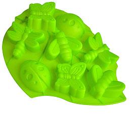 Форма силиконовая для выпечки Лист Regent inox 93-SI-FO-105 28x22x3 смТовары для выпечки<br><br>