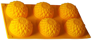 Форма силиконовая Золотой шар Regent inox 93-SI-FO-28 30x17,5x3,5 смТовары для выпечки<br><br>