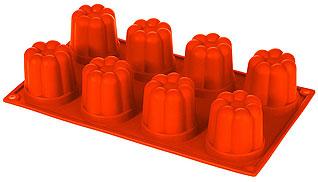 Форма силиконовая Пуддинг Regent inox 93-SI-FO-35 30x17,5x6 смТовары для выпечки<br><br>