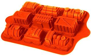Форма силиконовая Паровозик Regent inox 93-SI-FO-38 39x24x4,5 смТовары для выпечки<br><br>