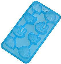 Форма силиконовая для льда Путешествие Regent inox 93-SI-FO-16.12 19,5x10,5x2,5 смБарные принадлежности<br><br>