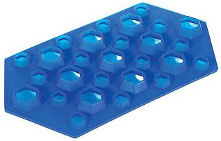 Форма силиконовая для льда Бриллианты Regent inox 93-SI-FO-16.5 23x12x2,5 смБарные принадлежности<br><br>